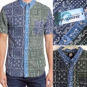 Reyn Spooner Lahaina Colorblock Tailored Fit Shirt